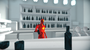 SUPERHOT – Slow and Steady, Shoot His Face