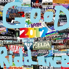 Here's Every Game I Played in 2017